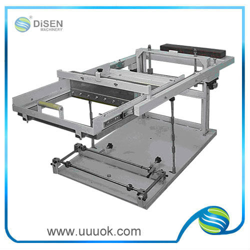 Silicone bracelet screen printing machine for sale