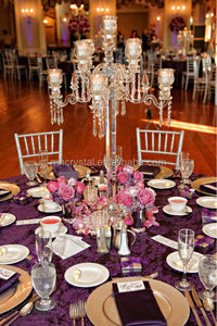 Flower Top wedding crystal centerpiece MH-1558