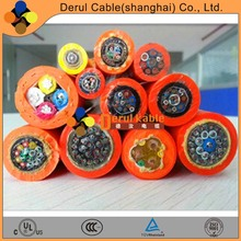 Factory price electrical cable wire 10mm tensile reinforced cable