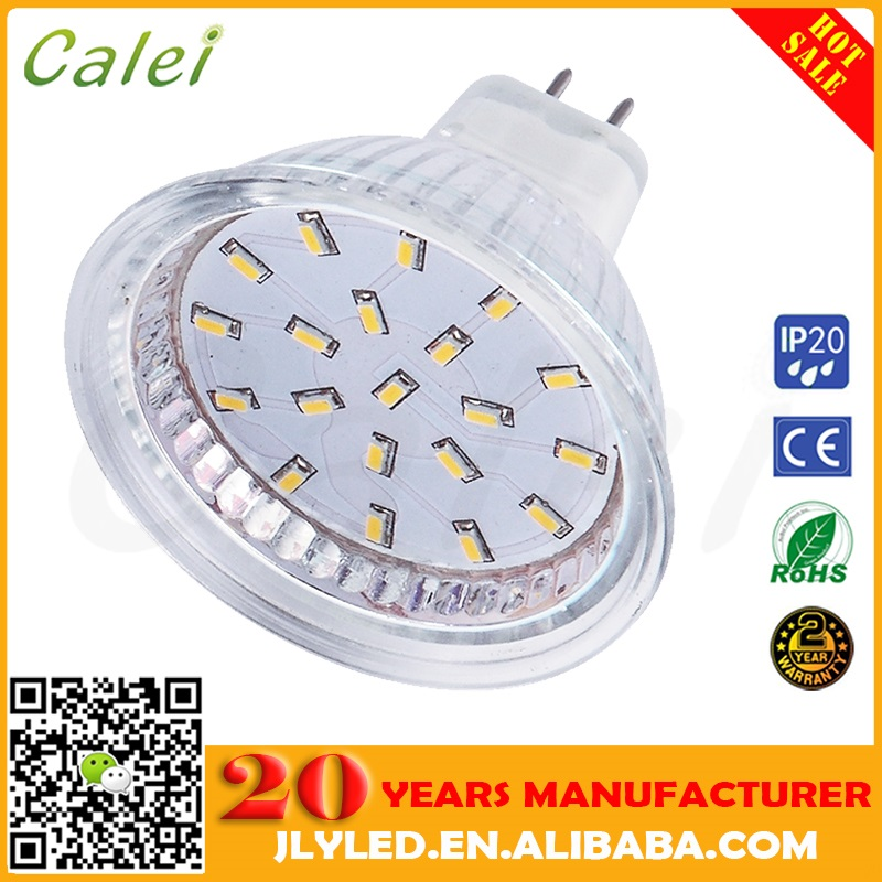 Cheap Price Stock Quality Glass MR16 LED Lamp Light Warmwhite 40 SMD2835 4W 5W 400LM AC86-265V 45W-50W Halogen Replacement Bulbs