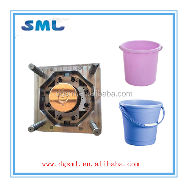 Chinese mould maker for plastic bucket new design / custom household bucket / plastic bucket mold injection processing