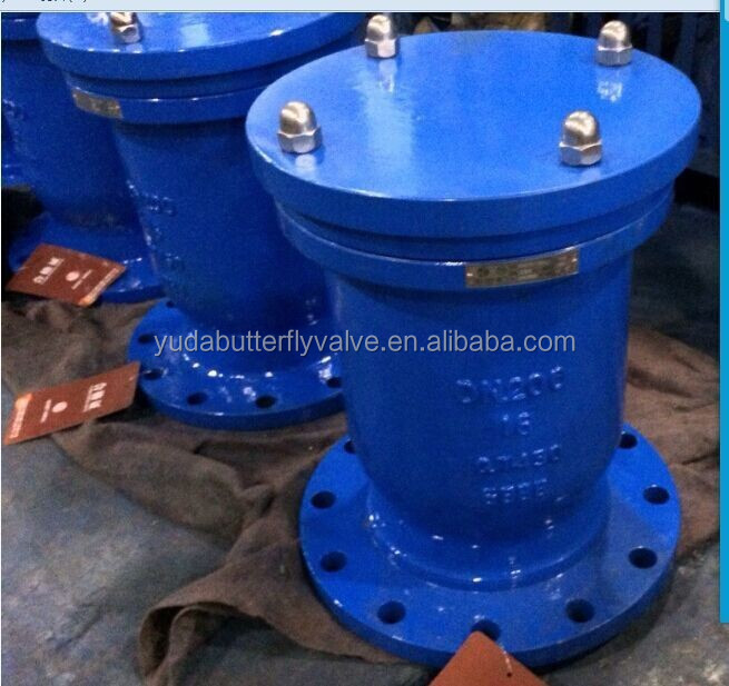 Cast iron flanged end Alibaba China automatic air valve