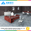 Customized good quality unique wooden modern executive desk office table design