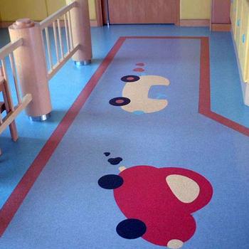 Cartoon Picture Kids Child Room Pvc Vinyl Floor