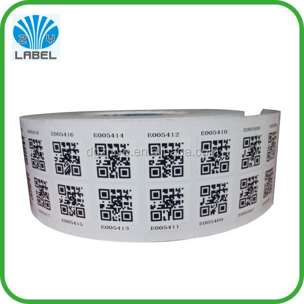 2014 latest 100% direct manufacture customized eco-friendly date code stickers