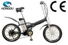 2012 hot sale foldable electric bicycle bike with en15194 approval