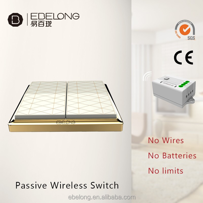 wireless home wall switch for australia electrical large plate switch