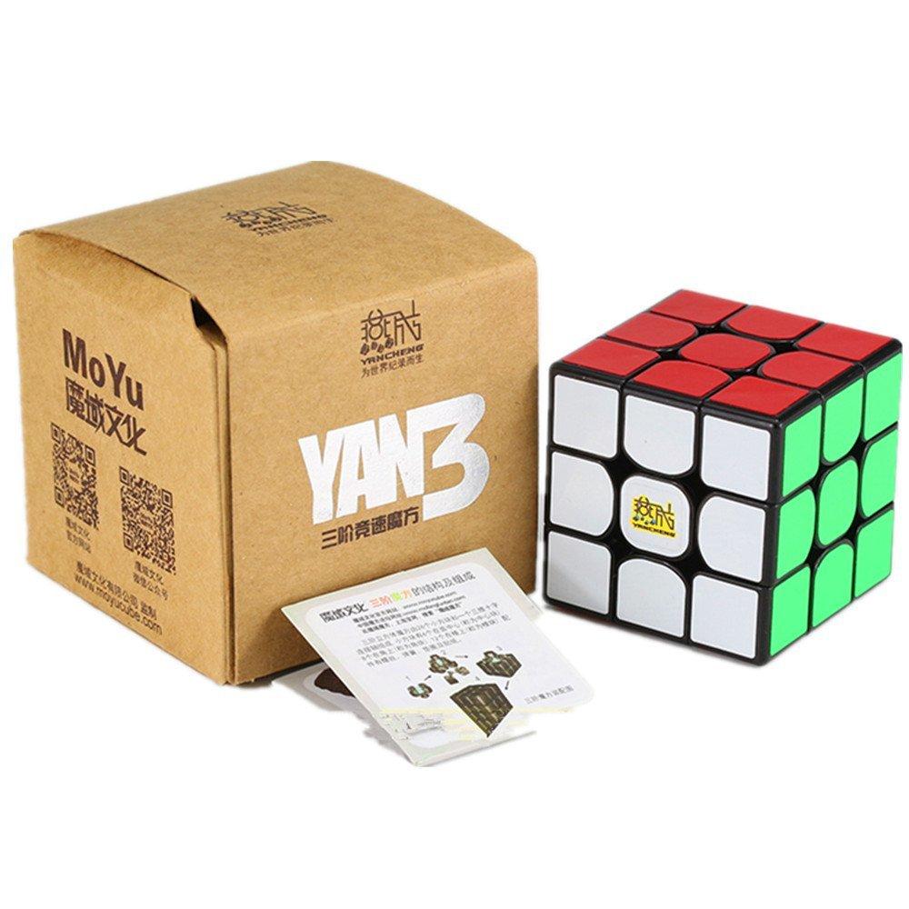 CuberSpeed Moyu YanCheng YAN3 3x3 Black Magic cube YAN 3 YanCheng YAN3 Speed cube