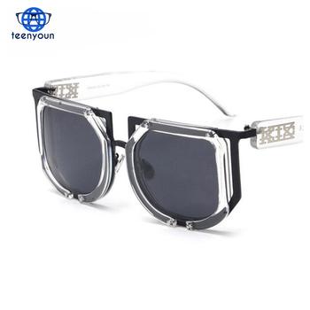 91fd8c66e5ea Rock Star cool Fashion Polarized Luxury Sunglasses Women Brand Design  Vintage Men Sun Glasses Decoration Oversize