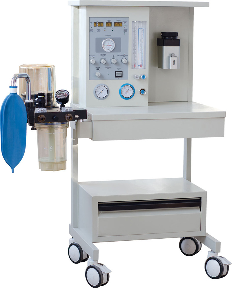 BR-AM02 Manufacture Mobile anesthesia machine datex ohmeda and oxygen flush valve anesthesia machine