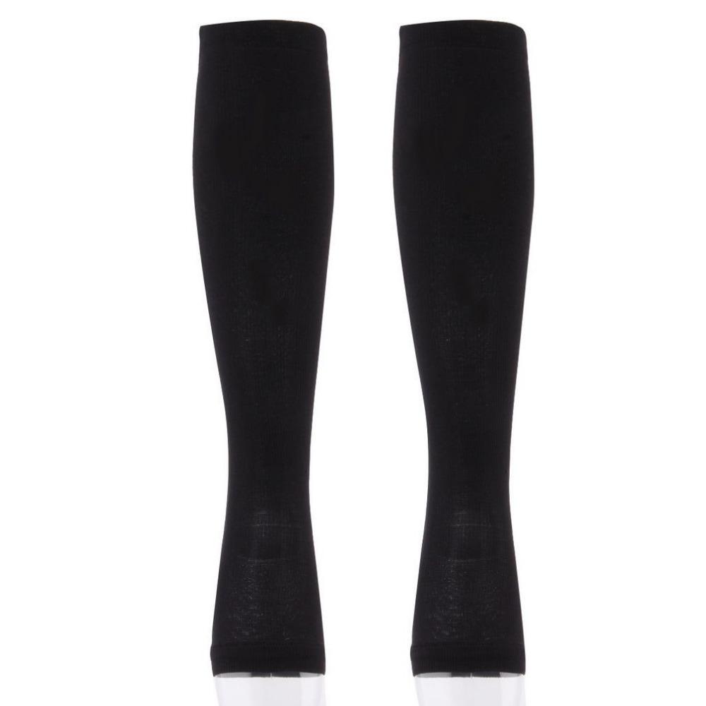 56a08779124dd Популярные женские на молнии Компрессионные гольфы Колготки поддерживает  носком нога чулок