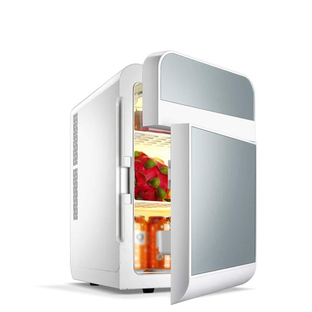 Peaceip Car Refrigerator 20L Dual Refrigeration Car Mini Fridge Small Home Mini Dormitory Car Home Dual-use Double Door Refrigerator Fridge