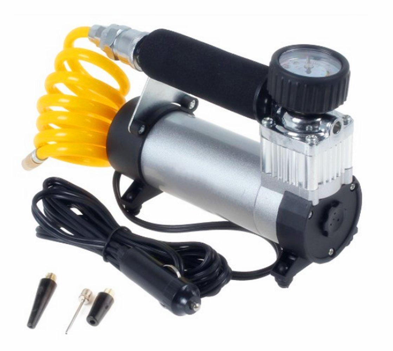 Mini and Portable Metal Cylinder Air Compressor Pump 12V 150PSI Electric Tire Air Inflator Pump for Bike Car Ball