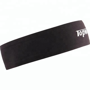 Customized 3D logo running sweat absorption yoga headband
