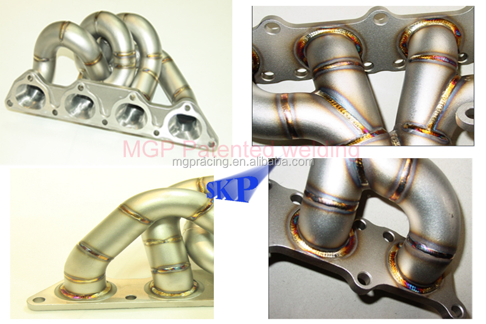 STEAM PIPE 3MM 321 Stainless Steel Car Exhaust Header for Pors*che 986 Boxster 2.5/2.7/3.2L 97-04
