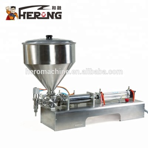 HERO BRAND Tube Cover Donut Machineampjam Semi-auto Water Semi-auotmatic Liquid Filling Machine