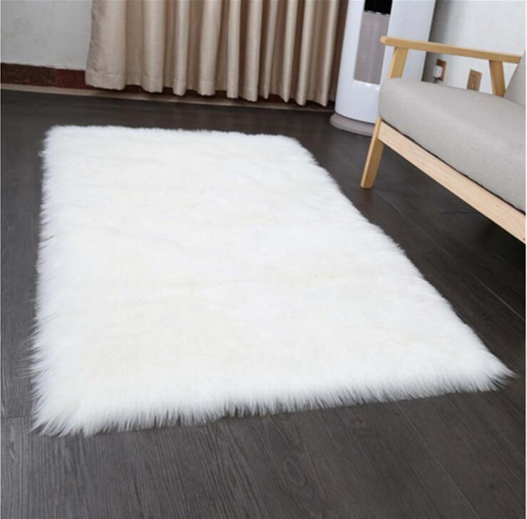 Luxury Sheepskin Faux Fur Rug