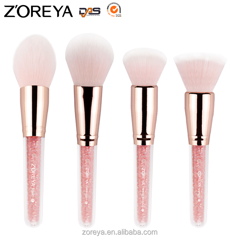 private label makeup brush Zoreya Blending professional oval makeup brush