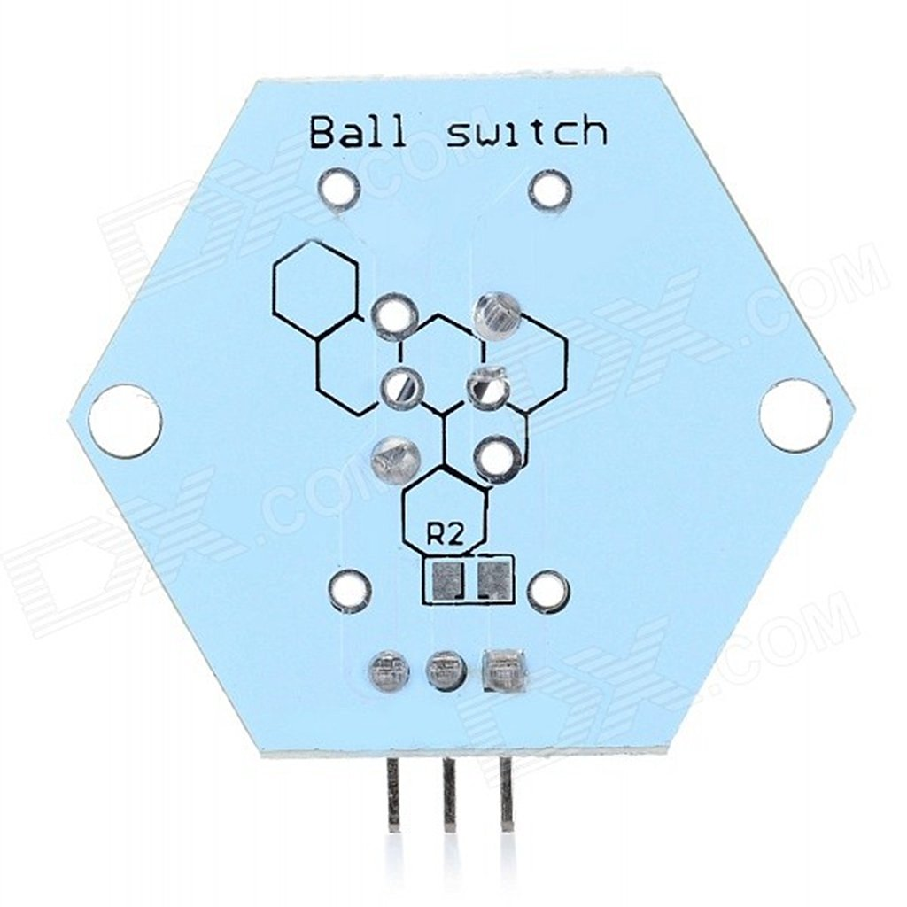 Next LTDR-0009 Tilt Switch Sensor Module for Arduino - White + Black (Works with Official Arduino Boards)ARD0742