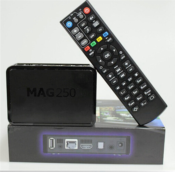 2016Best Selling mag 250 Linux arabic IPTV Box MAG250 HD mag250 +1 Year European IPTV mag250 for option european arabic iptv box
