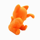 Tea Accessories Cat Tea Infuser,FDA Silicone Animal Tea Infuser