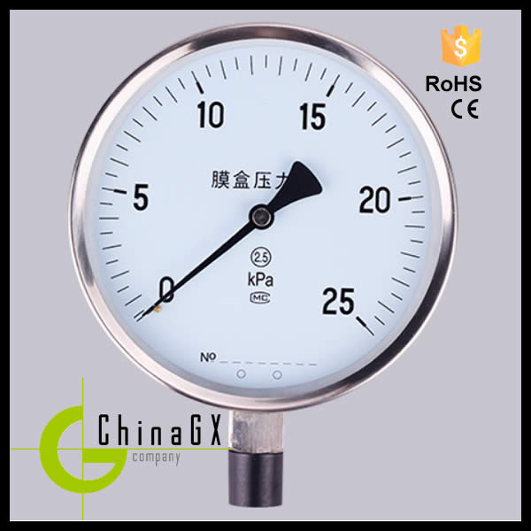 40mm to 150mm digital output electronic oil pressure gauge