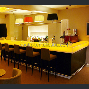 New Arrival Beautiful Elegant Design Home Bar Juice Bar Counter