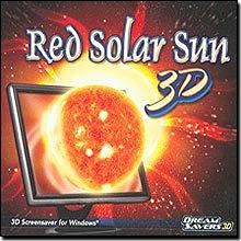 New Dream Saver 3D Red Solar Sun 3D Screensaver High-Quality Animation Full 3D Environment