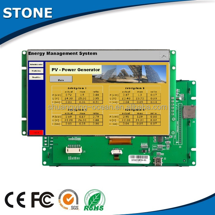 lcd controller board 5.6 inch flexible lcd display LED backlight long life service