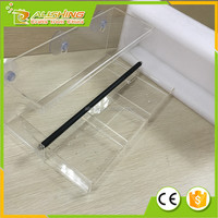 Wholesale Removable tray large acrylic window bird feeder with drain holes best selling on Amazon