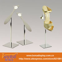 Elegant tablet shoes stand display BN-9062PSS