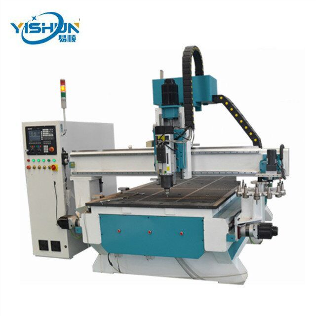 Cheap price CNC router wood CNC manufacturer supply portable door cabinet frame making cutting carving CNC router machine