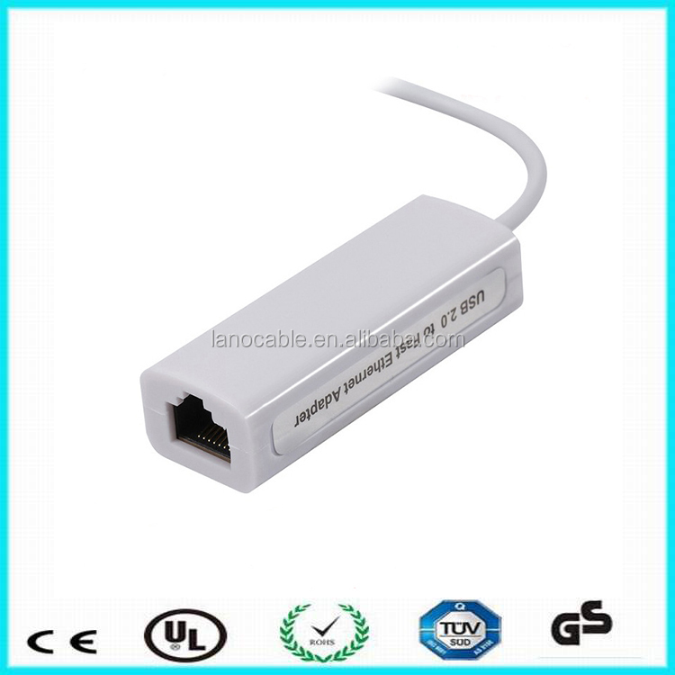 White color AX88772A wired network usb ethernet wifi adapter