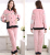 flannel sleeping pajamas homewear pajama sets women
