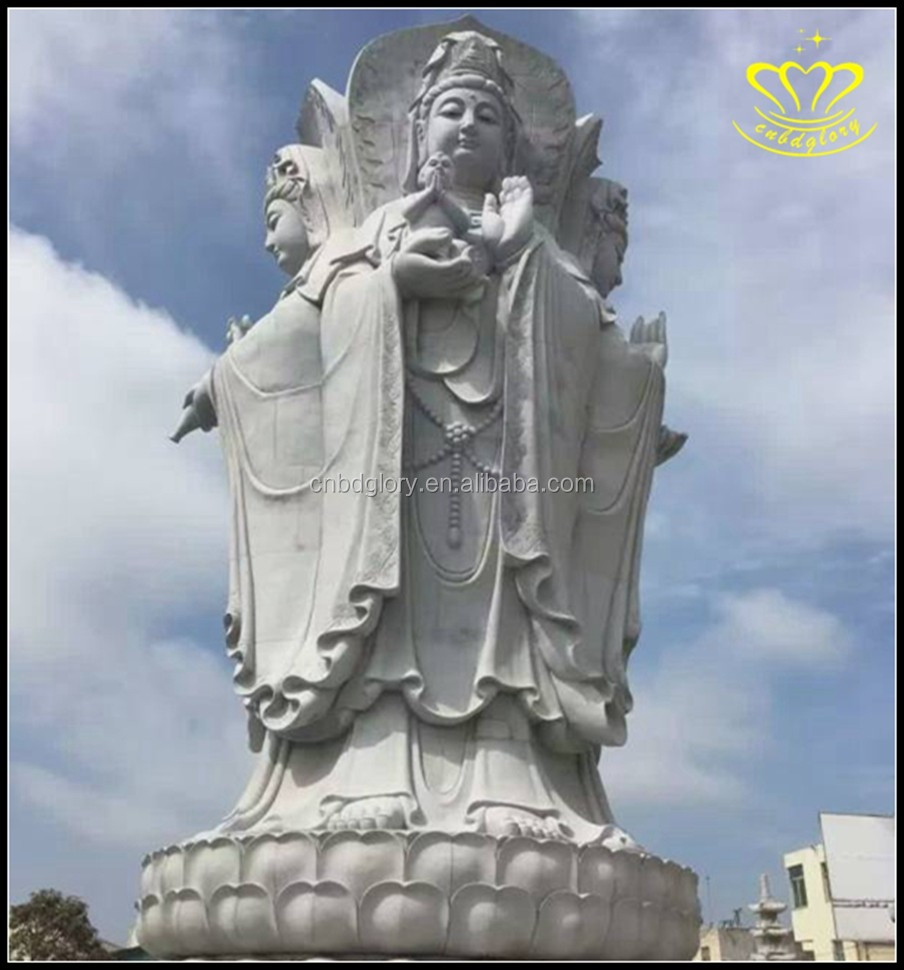 Large Garden decor Carving Marble Buddha Statue for sale