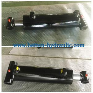 Double acting Cross Tube hydraulic cylinder Hydraulic piston cylinder