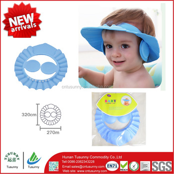 Multipurpose durable baby safety shampoo hat