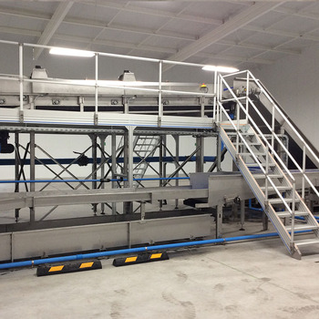Exceptionnel Aluminium Mobile Ladder For Warehouse Stairs, Maintenance Platform