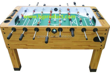 Modern Design And Professional Heavy Duty Standard Size Foosball Table  Babyfoot Kicker Football Soccer Table