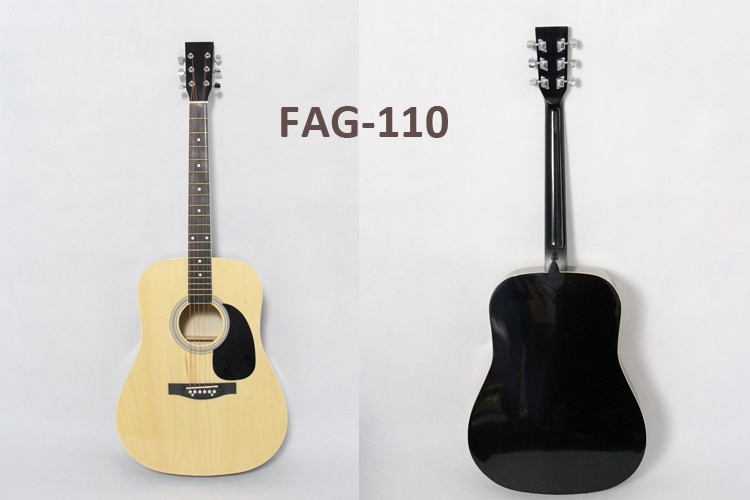 "chinese classical guitar FCG-110 Basswood Plywood Back and Side 39"" Classical Guitars"