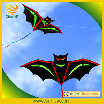 high quality bat kite with handle line outdoor flying toy nylon ripstops kids kite surf octopus kite factory new