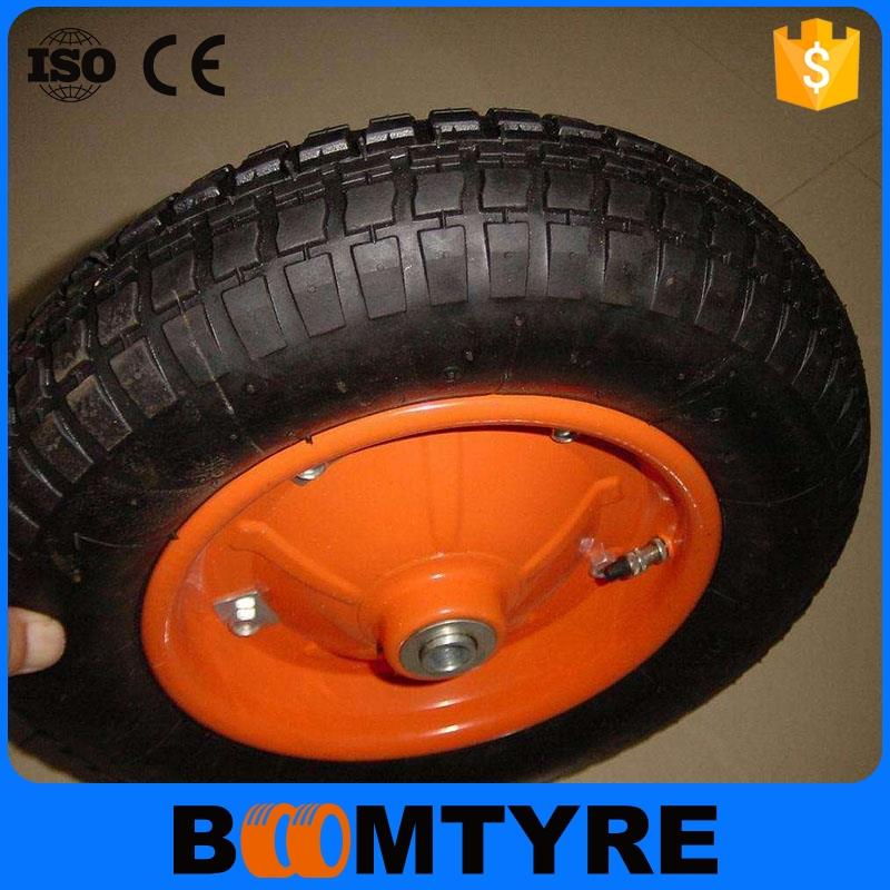 tyre made in China rubber pneumatic tire launching trolley wheels