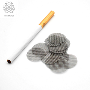 Stainless steel brass titanium tobacco screen smoking stone pipe filter screen