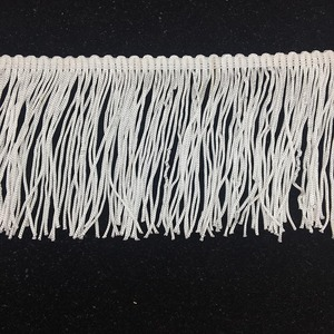 made in china factory direct sale cheap dance shawl polyester fringe for sewing