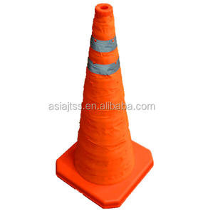 collapsible traffic cone/collapsible safety cone easy to storage