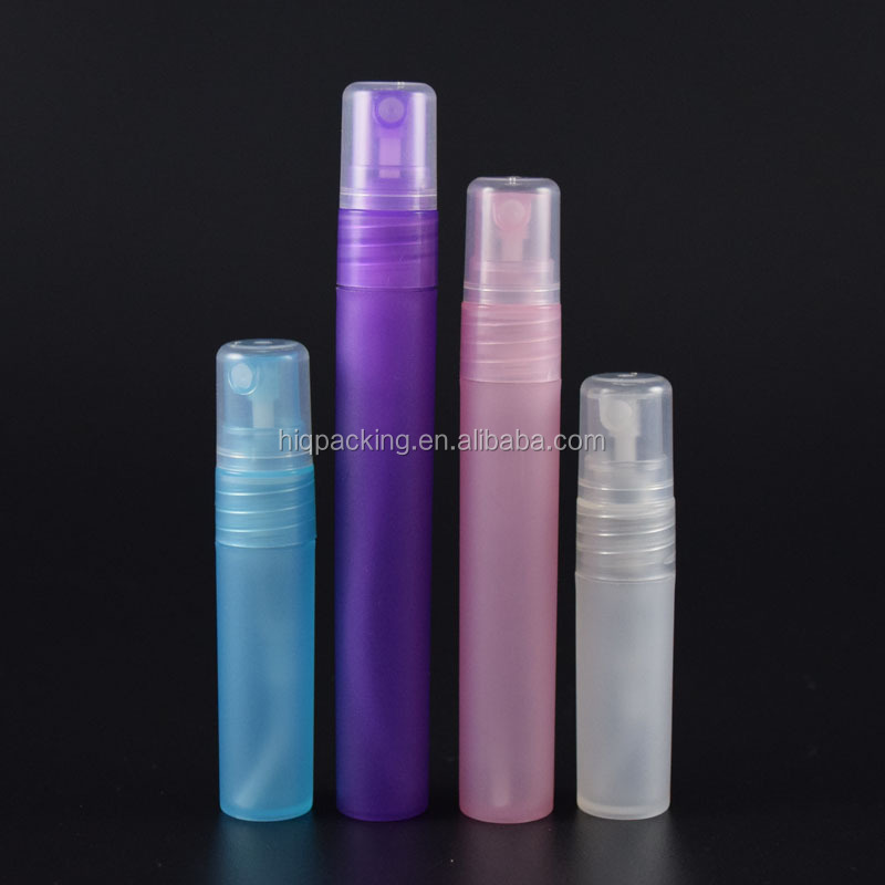screw type 3ml 5ml 8ml 10ml white matt spray bottle pen for cosmetic packing