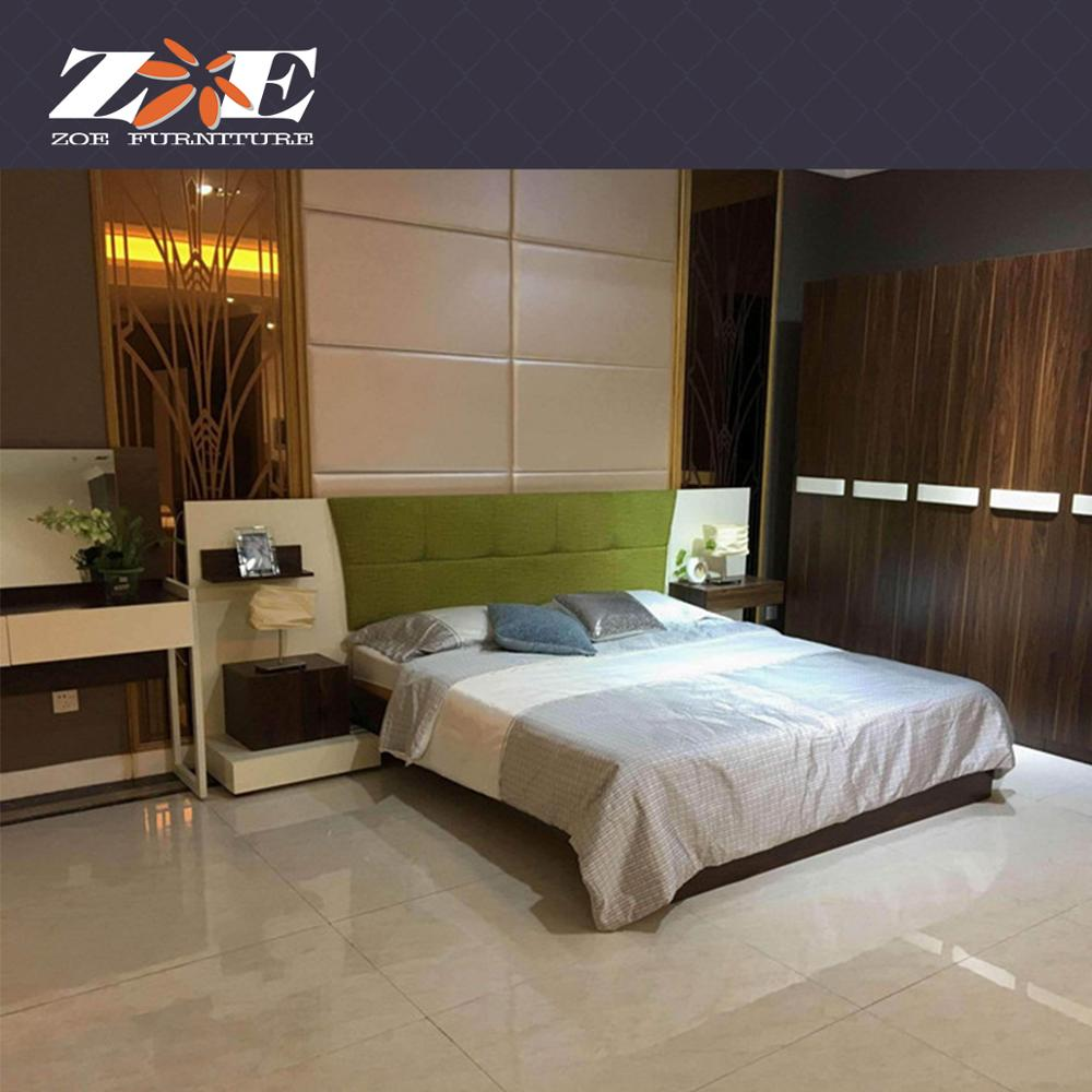 Modern Hotel Studio Apartment Mdf Bedroom Furniture Sets Home Furniture  India Double Bed Designs Foshan Furniture Shop Online - Buy Home Furniture  ...