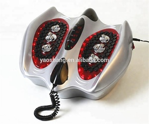 roller kneading function foot massager for blood circulation