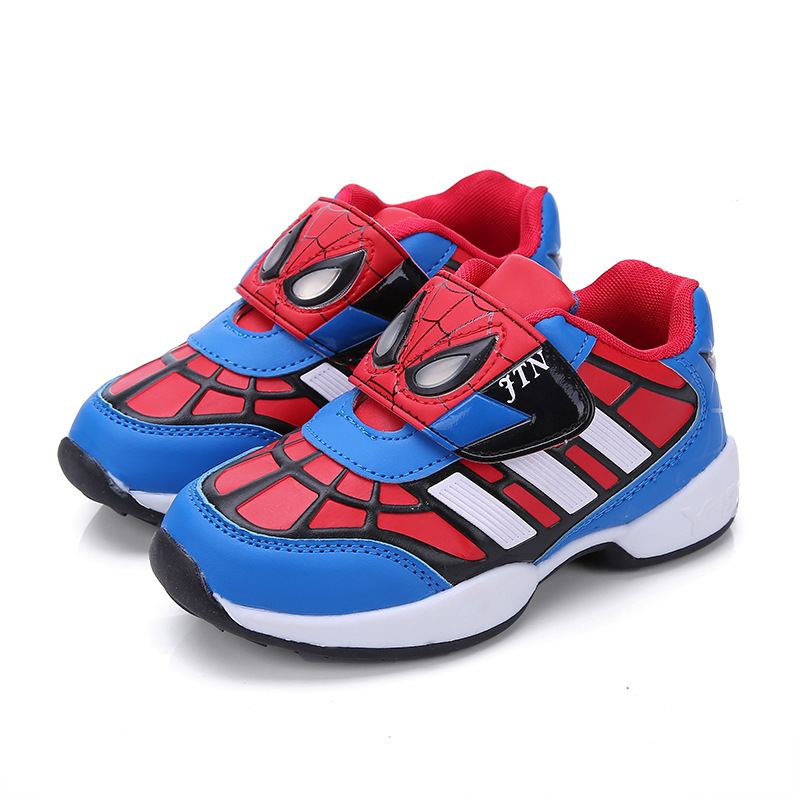 Spiderman Toddler Shoes Size
