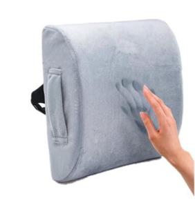 Memory foam back lumbar support cushion for car seat lumbar pillow back pain